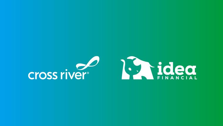 Idea Financial + Cross River logos